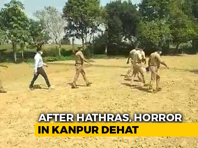 Video : UP Girl's Mutilated Body Found In Field, Family Alleges Rape