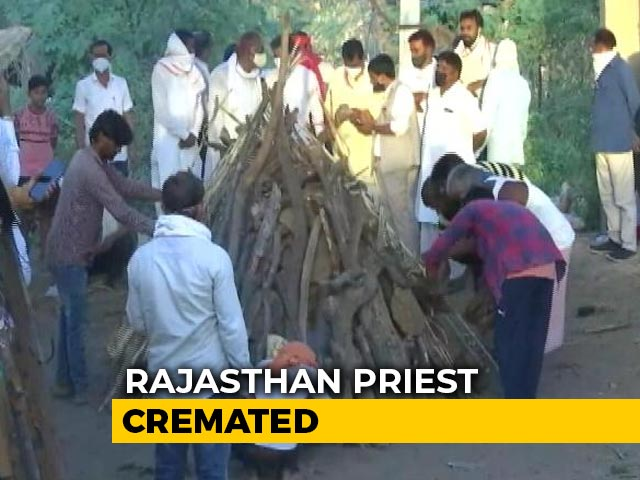 Video : Rajasthan Priest, Burnt Alive Over Land, Cremated As Family Ends Protest