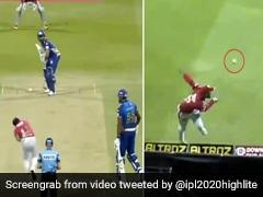 IPL 2020: मैक्सवेल ने बाउंड्री पर कूदकर लपका कैच, फिर हवा में उछालकर किया आउट, देखते रह गए रोहित शर्मा - देखें Video