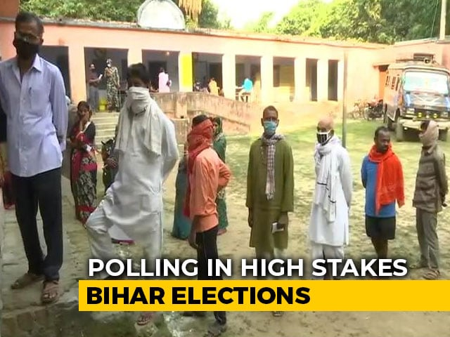 Video: Will Nitish Kumar Get A Fourth Term? Voting Begins In Bihar