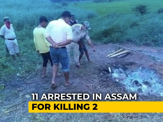 Video : 11 Arrested In Assam Over Suspected Witch-Hunting Case