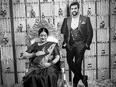 Pics From Chiranjeevi Sarja's Wife Meghana Raj's Baby Shower Go Viral Because...