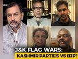 Video : Centre vs Gupkar Fight Over Mehbooba Mufti's Flag Remark