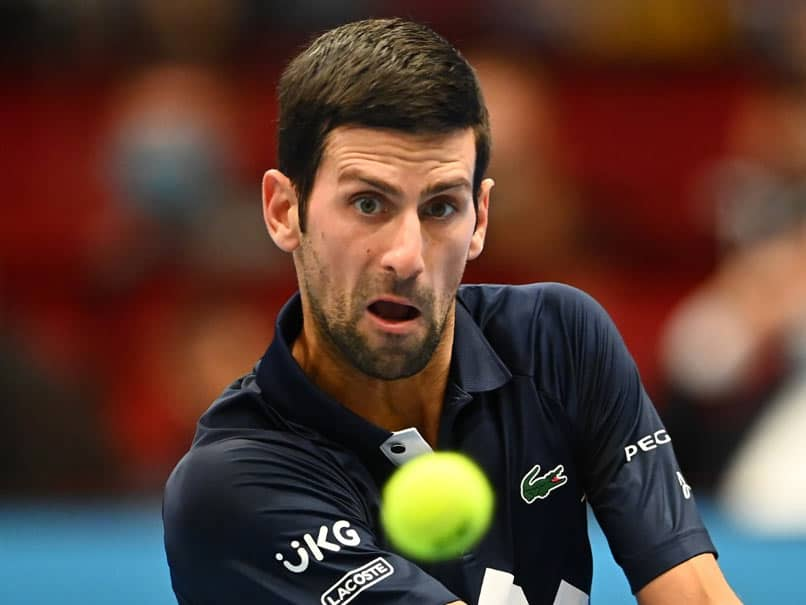 Novak Djokovic Wins Vienna Opener To Close On Childhood Idol Pete Sampras Record