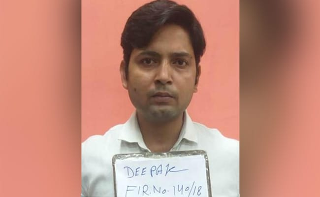 दिल्ली मेंफ्लैट बुकिंग और लकी ड्रा के नाम पर ठगी करने के आरोप में एक शख्स गिरफ्तार