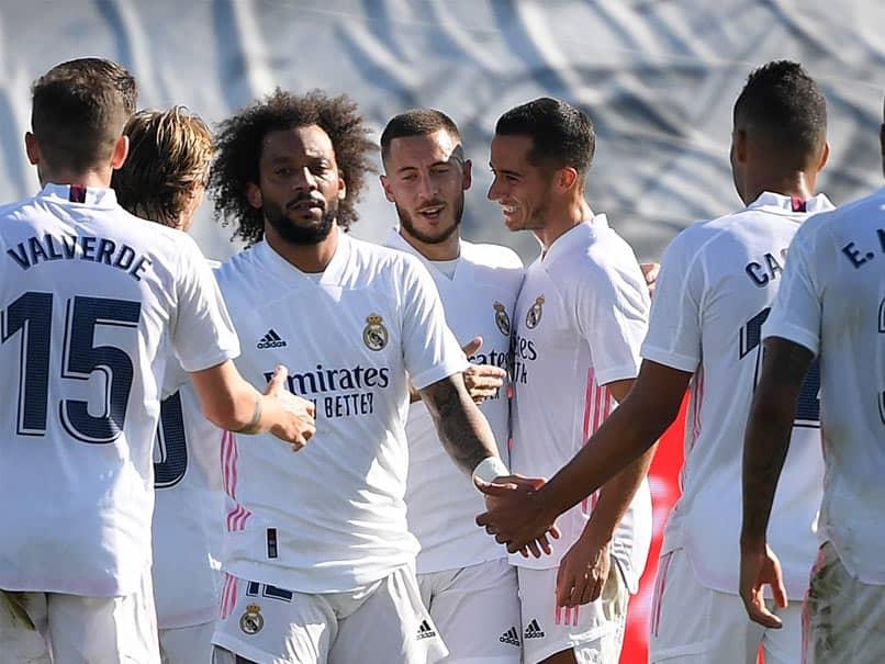 La Liga Eden Hazard Stunner Gives Revived Real Madrid 4 1 Over Huesca Football News