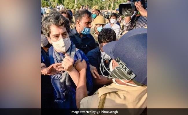 'How Dare He...?' BJP Leader's Tweet On Cop Manhandling Priyanka Gandhi