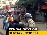 "Video : ""Communal Colour"": Bengal After Cops Accused Of Pulling Sikh Man's Turban"