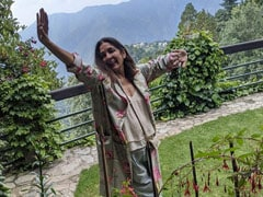 Music And Mountains Made Neena Gupta's Morning Extra Special