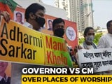 "Video : ""Turned 'Secular'?"" Governor vs Uddhav Thackeray Over Places Of Worship"