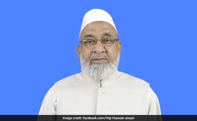 Jharkhand Minister Haji Hussain Ansari Dies At 73