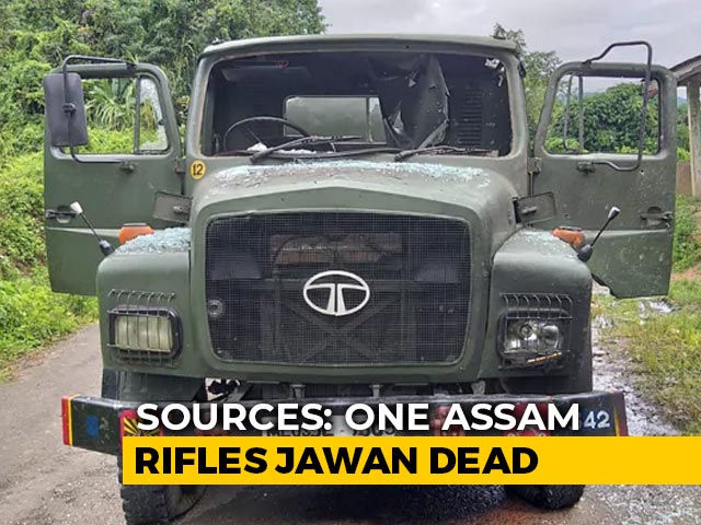 Video : Assam Rifles Soldier Killed In Ambush By Insurgents In Arunachal: Sources
