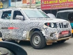 Next-Gen Mahindra Scorpio SUV Spotted Testing Again
