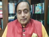 "Video : ""Dismay"": Shashi Tharoor Describes Socio-Political Climate In India"