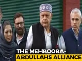 Video : Farooq Abdullah, Mehbooba Mufti In J&K Parties' Alliance For Article 370