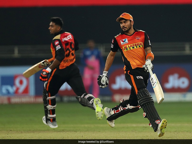 "IPL 2020, RR vs SRH: David Warner ""Chuffed"" For Manish Pandey, Vijay Shankar After 140-Run Stand vs Rajasthan Royals"