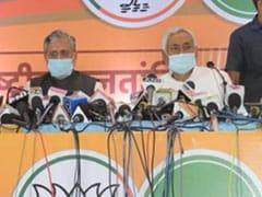 बिहार चुनाव: नीतीश कुमार, सुशील मोदी ने किया चुनाव प्रचार, लालू यादव पर बोला हमला