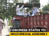 Video : Congress States To Hold Special Assembly Sessions To Defer Farm Laws