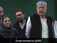 """On Day He Turns 84"": Omar Abdullah On Father Farooq's Questioning"