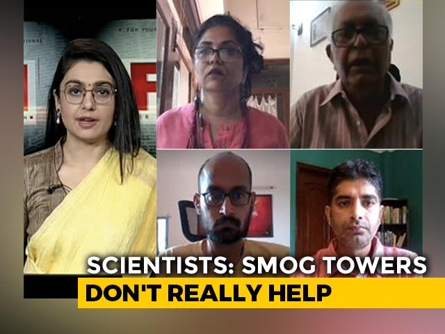 Video : Will Smog Towers Bring Down Pollution In Delhi?
