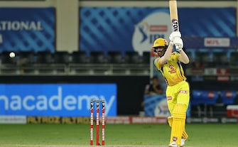 Chennai Super Kings Deal Heavy Blow To KKR's Playoff Hopes