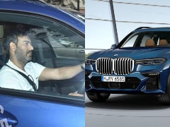 Actor Ajay Devgn Spotted Driving His Latest Ride - The BMW X7