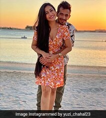 Yuzvendra Chahal's Loved Up Pic With Fiancee From His 'Perfect Evening'