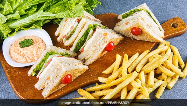 Watch: This Classic Chicken Mayonnaise Sandwich Is All Things Delicious