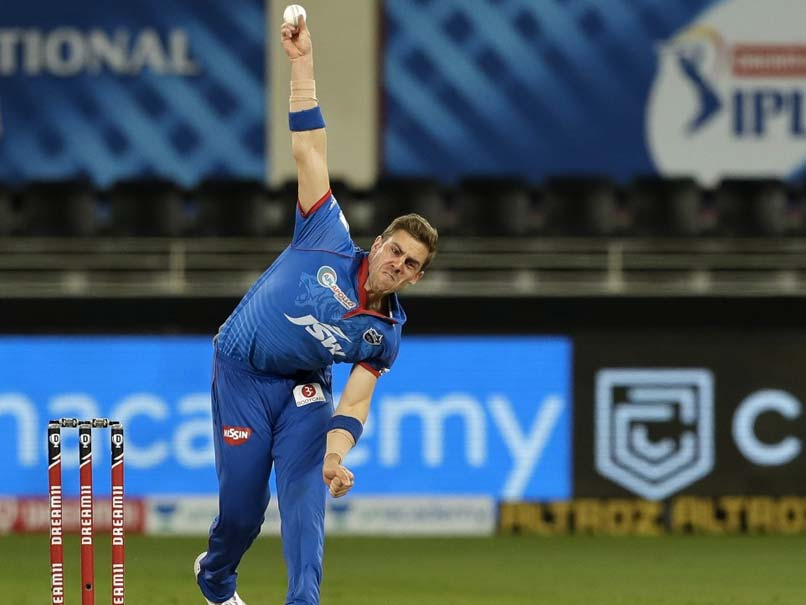 IPL 2021: DC's Anrich Nortje adjudged Man of the Match for his economical bowling against SRH