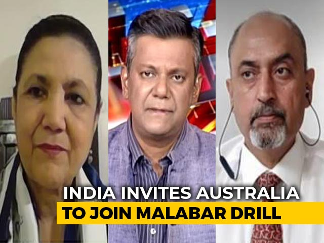 Video : Are India, USA, Australia, Japan Forming A Naval Alliance Against China?