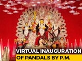 Video : PM Modi To Join Durga Puja Event In Bengal Today In BJP's Big Push For Polls