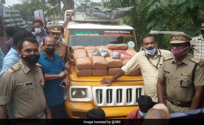 Drugs Worth Rs 4 Crore Seized In Thiruvananthapuram, 4 Arrested