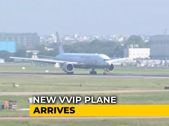 Video : Air India One, Custom-Made For President, Prime Minister, Arrives In Delhi