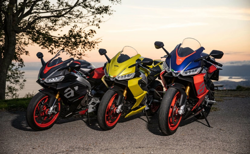 The Aprilia RS 660 and Tuono 660 will be offered in 3 colours - Apex Black, Lava Red & Acid Gold