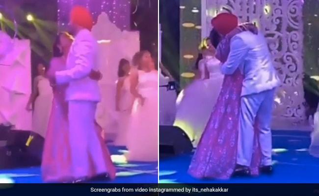 Neha Kakkar और Rohanpreet Singh ने 'मिले हो तुम हमको' पर किया रोमांटिक डांस, खूब Viral हो रहा है Video