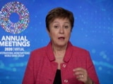 Video : IMF Chief Kristalina Georgieva Talks On Impact Of Lockdown On Economy