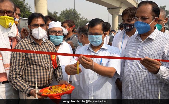 Arvind Kejriwal Throws Open Seelampur, Shastri Park Flyovers For Public