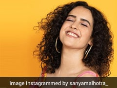 Sanya Malhotra Is Positively Radiant With Star Hoops, Bright Prints And Springy Curls