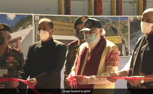 Atal Tunnel: PM Modi Inaugurates Strategically Important Atal Tunnel At Rohtang In Himachal Pradesh
