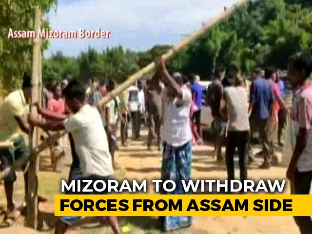 Video: Mizoram Pulls Troops From Assam Border As Centre Sends Top Officials