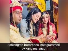 कंगना रनौत ने शेयर किया भाई की शादी का वीडियो, बोलीं- आज उनकी बेटी का कमरा खाली हो गया...