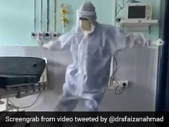 Video: Assam Doctor Dances To '<i>Ghungroo</i>' To Cheer Up Covid Patients