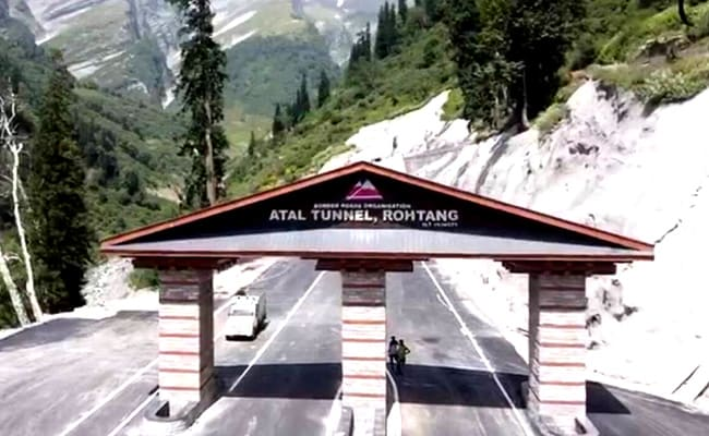 High-Resolution Cameras To Check Nuisance In Himachal's Atal Tunnel