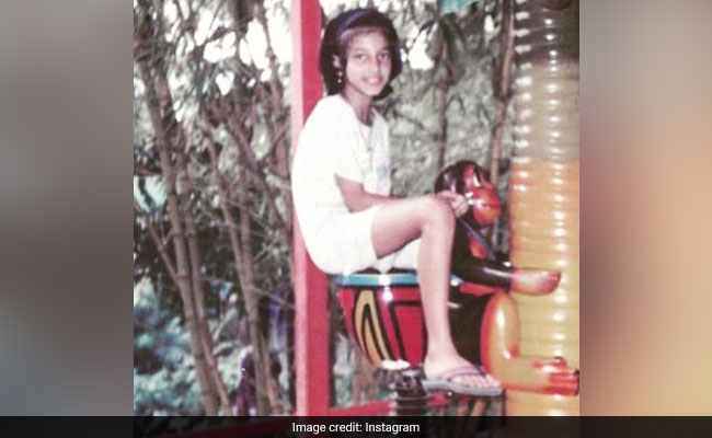 Guess The Celeb 'Monkeying' Around In This Nineties' Pic