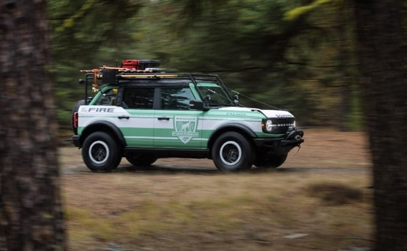 Ford will donate 2 Bronco SUVs modelled after the Fire Rig concept to support forest firefighting crews