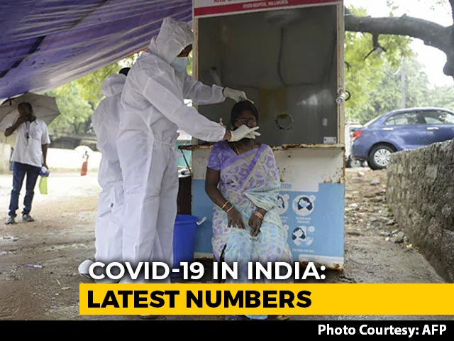 """Video : """"Unprecedented"""": Active 1-Day Covid Cases Below 8 Lakh, 1st Time In Weeks"""