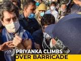 Video : UP Police vs Priyanka Gandhi Vadra In Hathras Drama