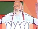 "Video : ""Jungle Raj Ka Yuvraj"": PM Modi's Direct Taunt At Tejashwi Yadav"