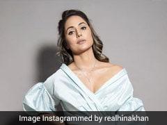 Hina Khan Makes Sure To Slay And Shine In Pastel Shades