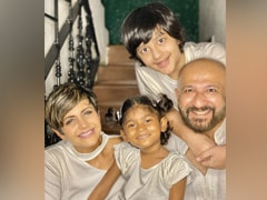 "Mandira Bedi Introduces Daughter Tara: ""She Has Come To Us Like A Blessing"""